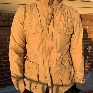 Military Field jacket in light brown